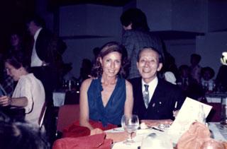 Lya Silver with Dr. Suzuki